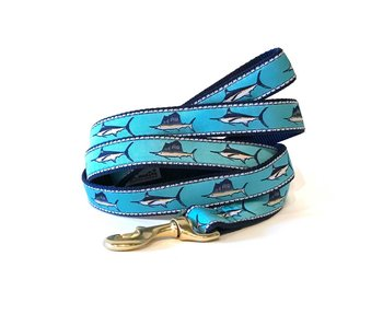 Up Country Dog Leash, Blue Marlin