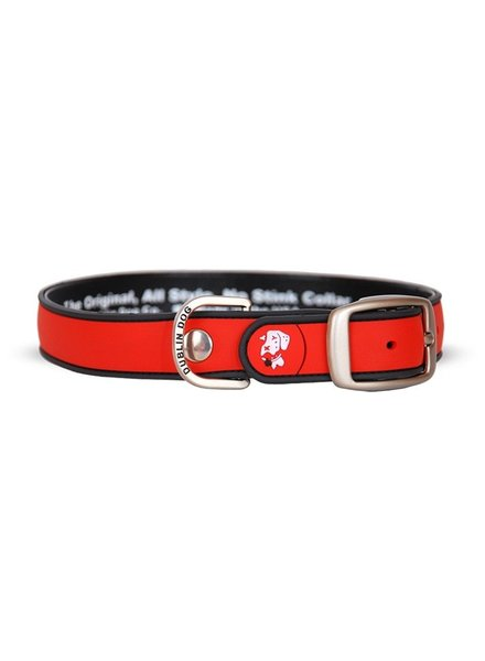 Dublin Dog Waterproof Collar, Red