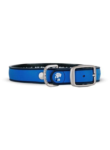 Dublin Dog Waterproof Collar, Blue