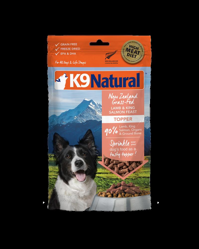 K9 Natural Feast Topper, Lamb & Salmon
