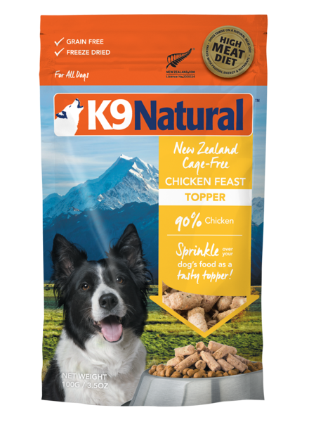 K9 Natural Feast Topper, Chicken