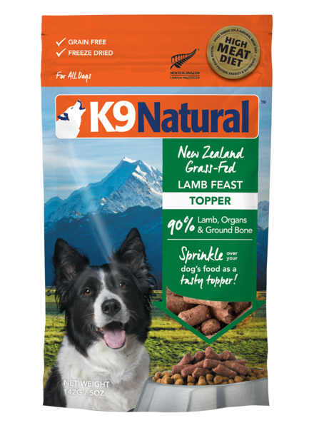K9 Natural Feast Topper, Lamb