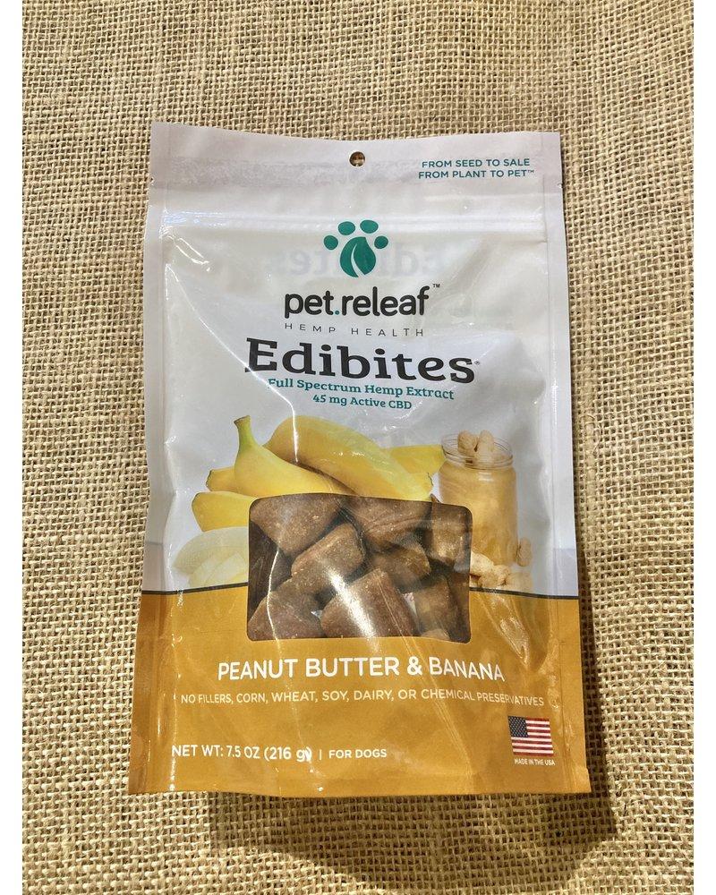 Pet Releaf Edibites Crunchy Peanut Butter Banana