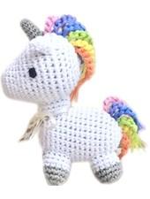 Pet Flys Crochet Unicorn Toy