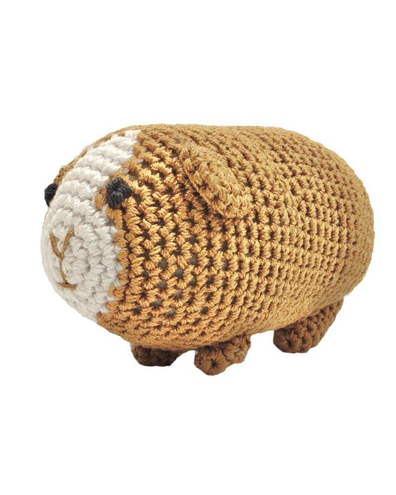 Pet Flys Crochet Knit Knack Guinea Pig Toy