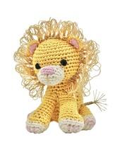 Pet Flys Crochet Lion Toy