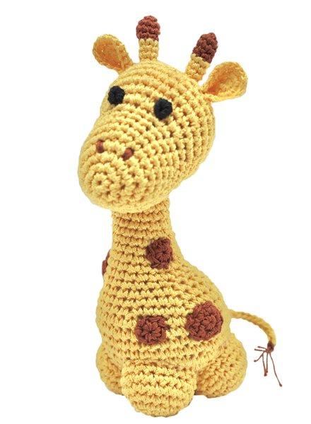 Pet Flys Crochet Giraffe Toy