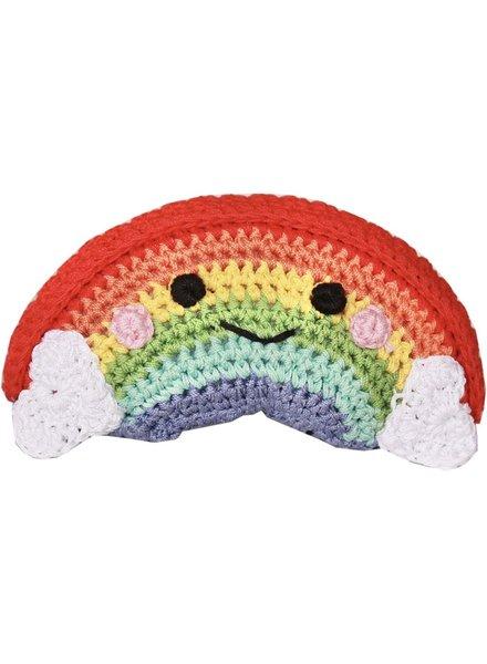 Pet Flys Crochet Rainbow Toy