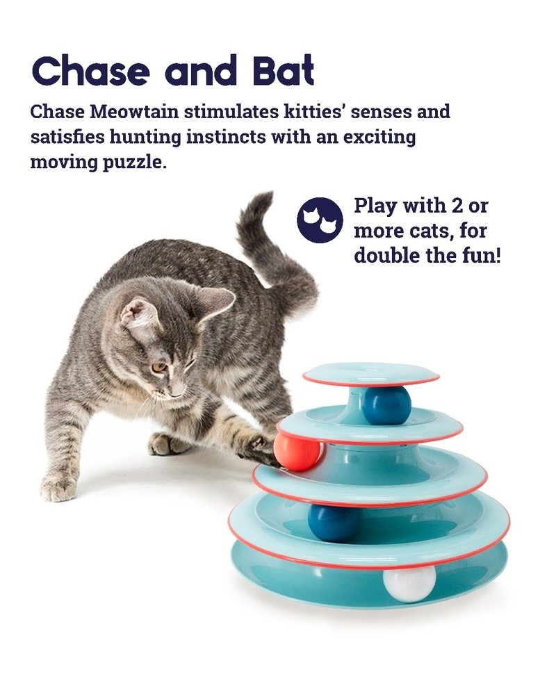 Petstages Chase Meowtain Cat Track Toy