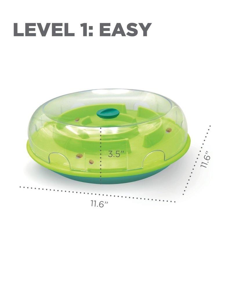 Nina Ottosson Wobble Bowl Interactive Treat Puzzle