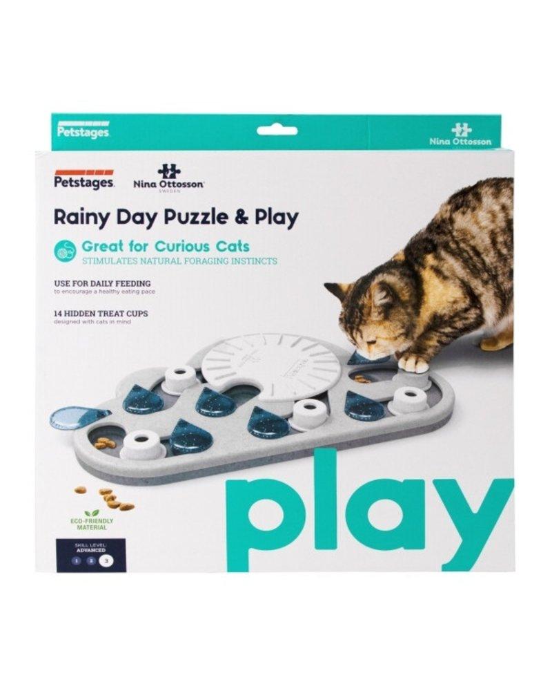 Nina Ottosson Rainy Day Puzzle & Play Cat Game