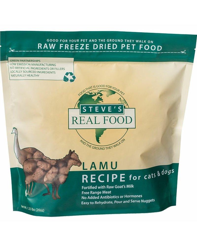 Steve's Real Food Freeze-Dried Food Lamu - Lamb & Emu Blend