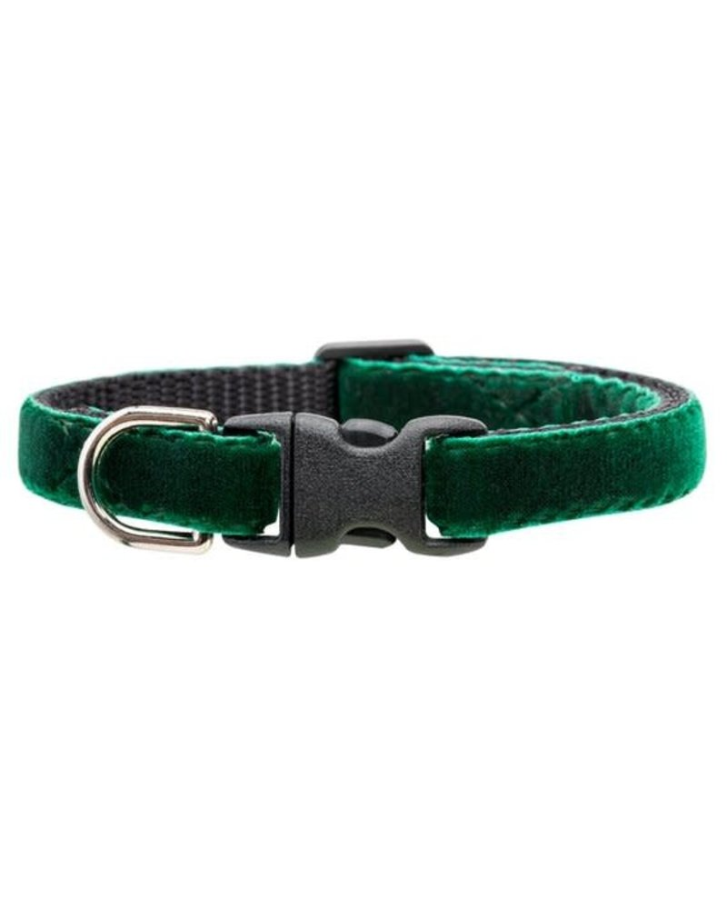 Sweet Pickles Designs Jade Velvet Cat Collar