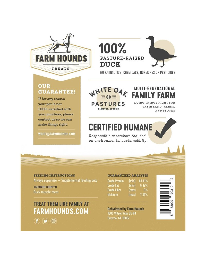 Farm Hounds Duck Jerky