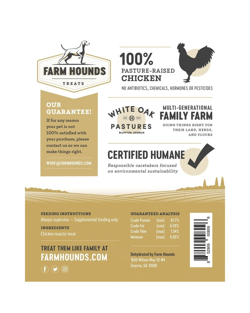 Farm Hounds Chicken Jerky