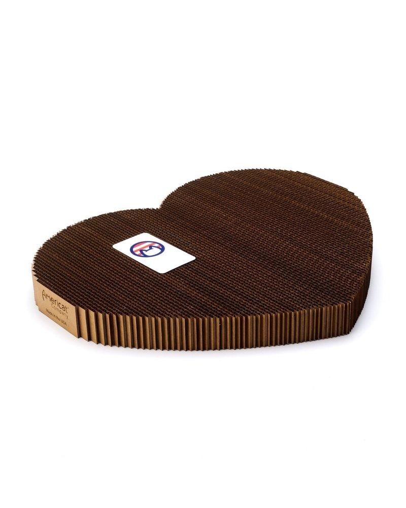 Americat Company Heart Scratch Pad