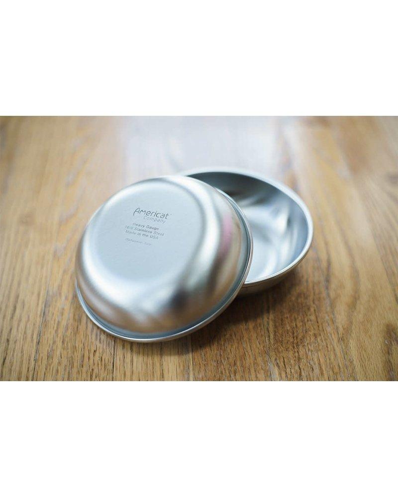 Americat Company Whisker Stainless Cat Bowl