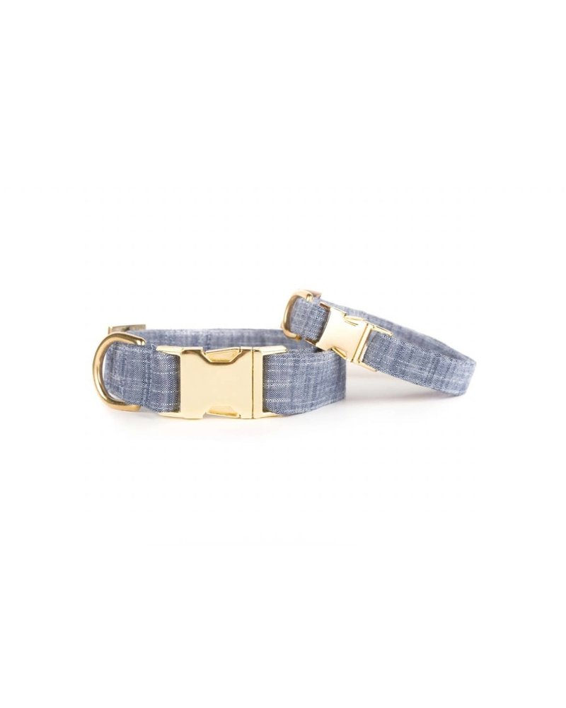 The Foggy Dog Chambray Denim Collar