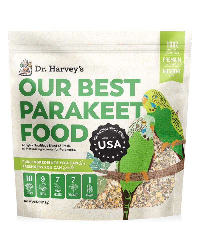 Dr. Harvey's Our Best Parakeet Food