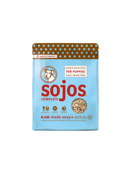 Sojos Complete Puppy Turkey & Salmon