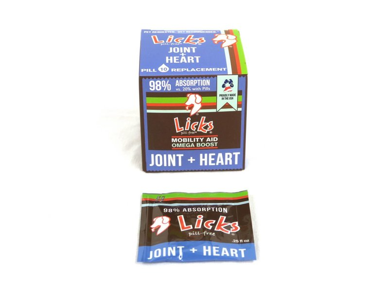 Licks Pill-Free Joint & Heart for Dogs