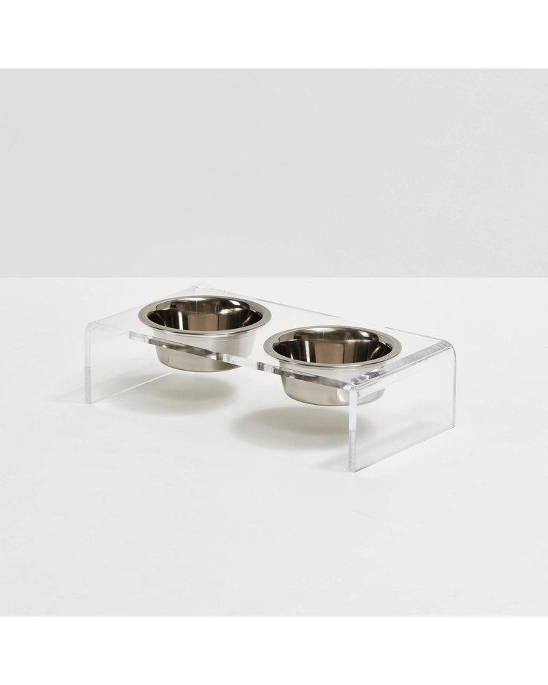 Hiddin Lucite Pet Bowls