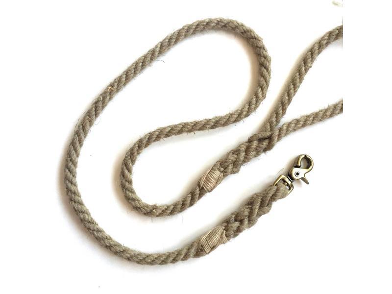Green Trout Organic Hemp Rope Lead