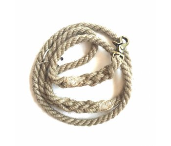 Green Trout Hemp Rope Lead