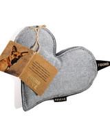 Found My Animal Denim Heart Toy