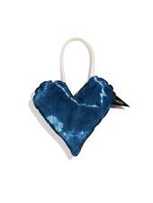 Found My Animal Batik Cotton Heart Toy