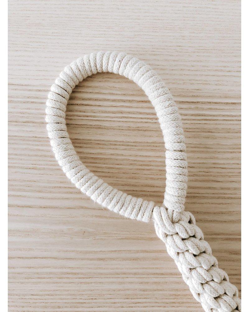 Ember & Ivory Macrame Rope Toy