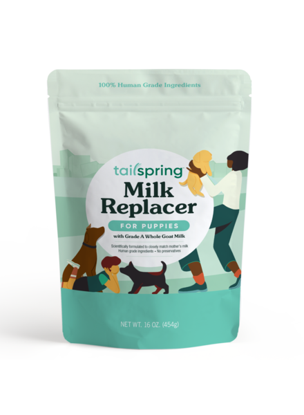 Tailspring Puppy Milk Replacer - Powdered