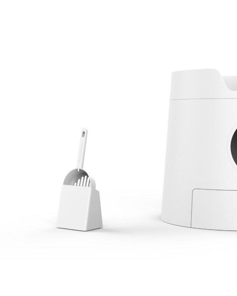 Furrytail Castle Litter Box White