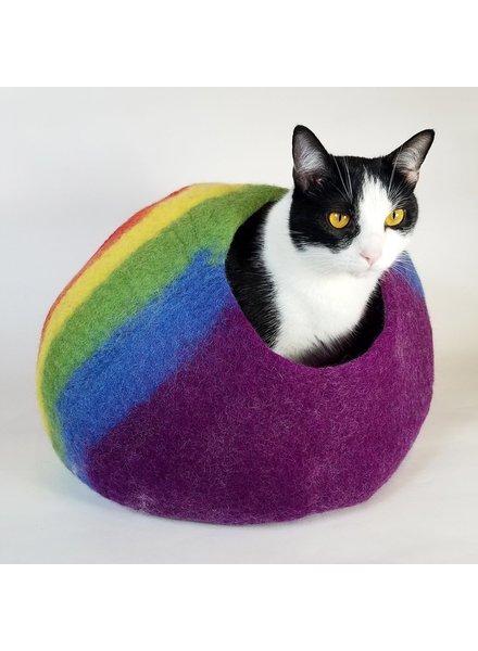 Walking Palm Cat Cave - Rainbow
