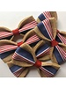 FEED Burlap Bow Tie, USA American Flag