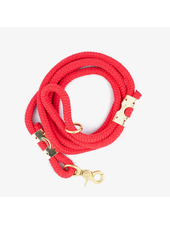 The Rover Boutique Marine Rope Leash, Red