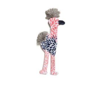 West Paw Stuffless Flamingo Toy, Carnation