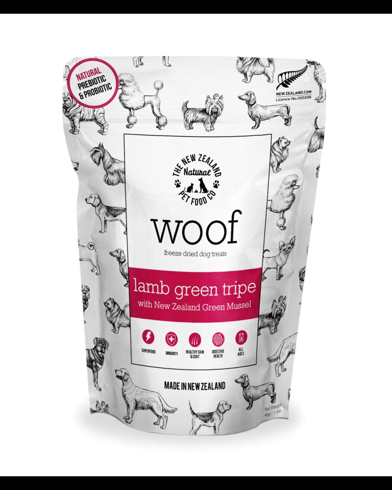 New Zealand Natural Woof Lamb Green Tripe