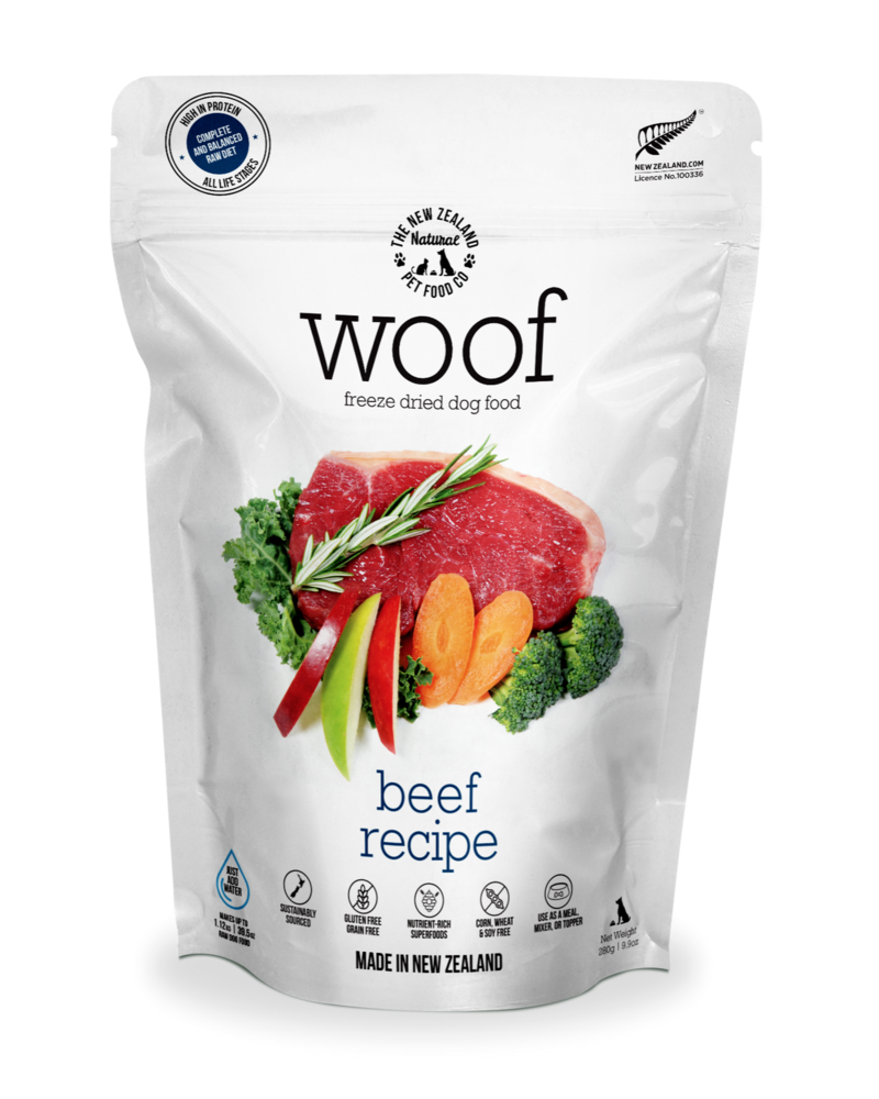 New Zealand Natural WOOF Beef