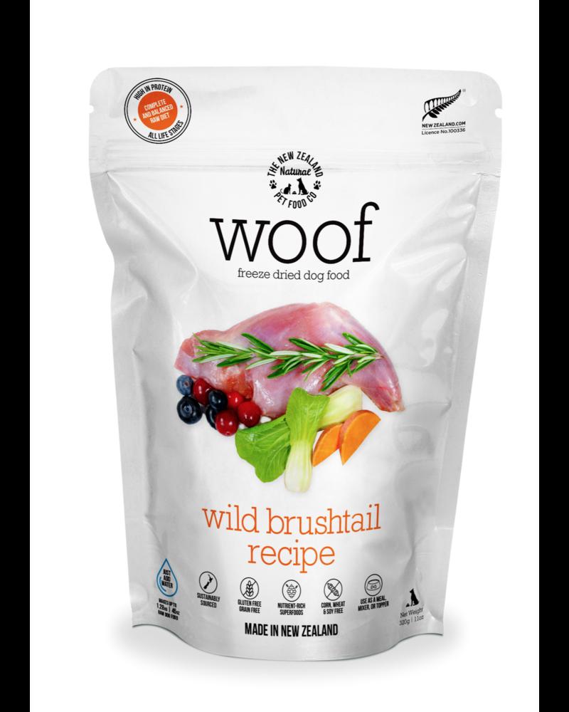 New Zealand Natural WOOF Wild Brushtail