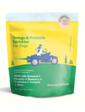 Because Animals Omega & Probiotic Sprinkles for Dogs