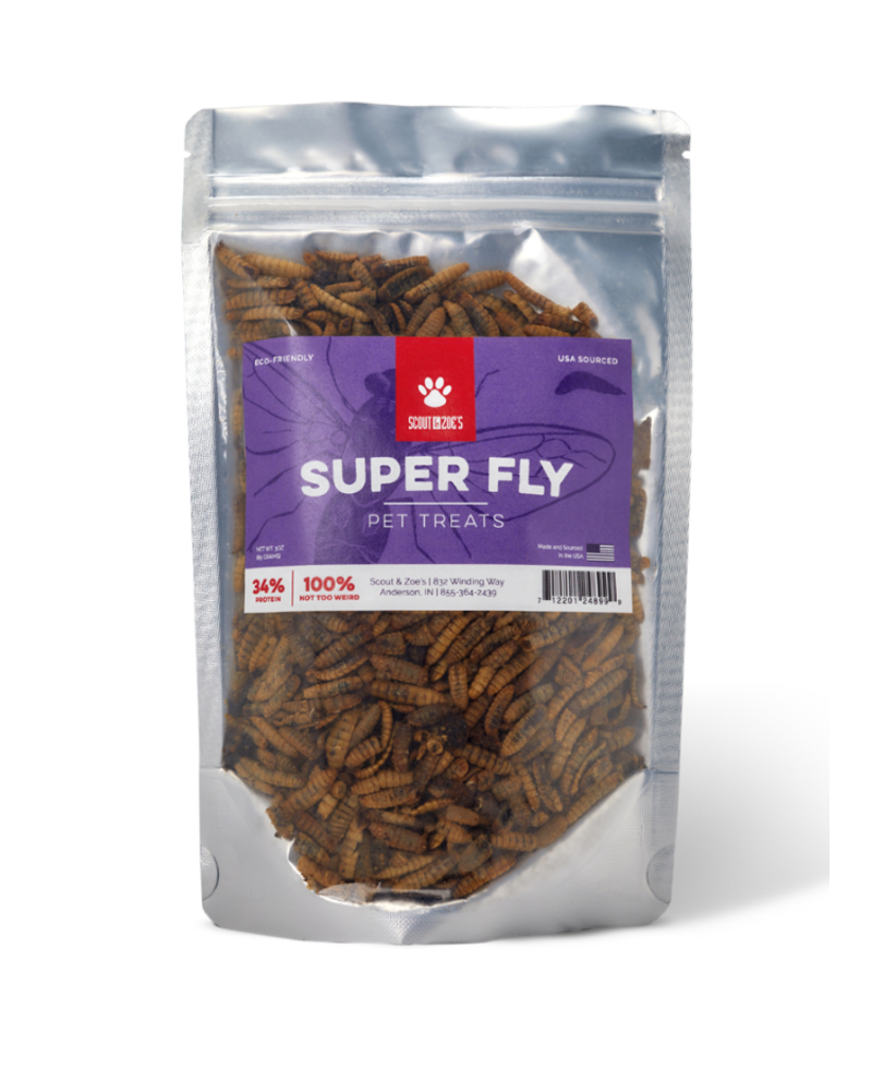 Scout & Zoe's Super Fly Black Soldier Fly Larvae