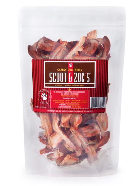 Scout & Zoe's Carrot Dog Treats