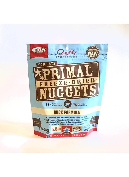 Primal Freeze-Dried Formula Duck for cats