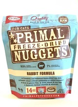 Primal Freeze-Dried Formula Rabbit for cats