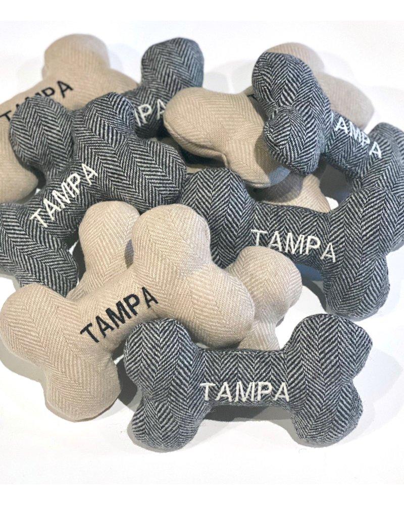 Hither Rabbit Tampa Bay Bone Toy