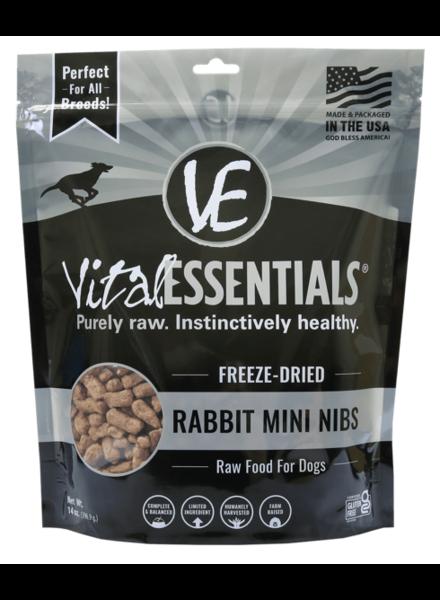 Vital Essentials Freeze-Dried Rabbit Mini Nibs