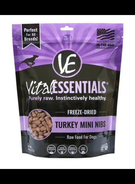 Vital Essentials Freeze-Dried Turkey Mini Nibs