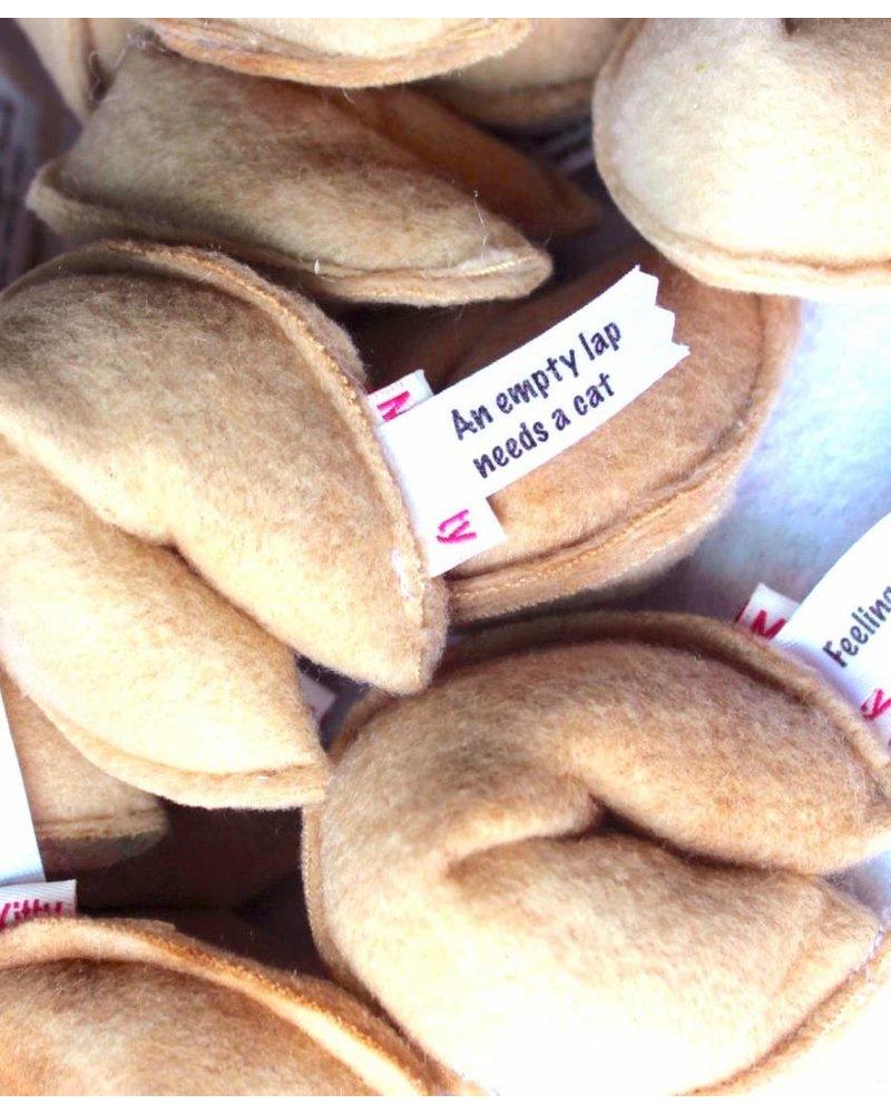 Miso Handmade Fortune Cookie Catnip Toy