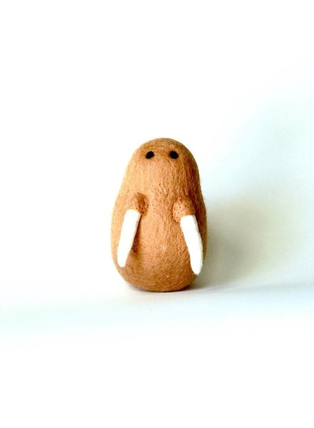 Ware of the Dog Felted Walrus